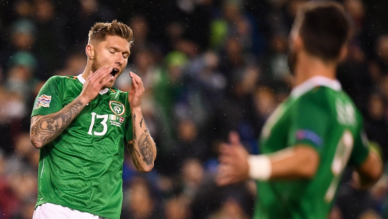 Decade of goal woes on Ireland's shoulders