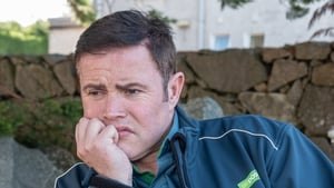 Poor David is down in the dumps and bereft of his lady love in Ros na Rún
