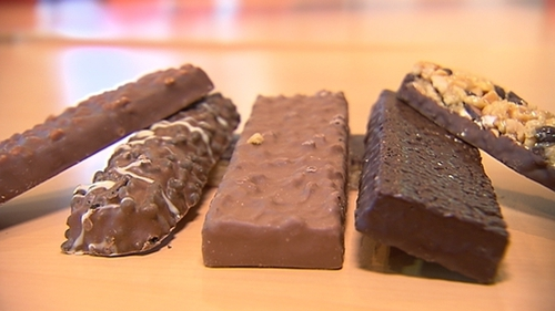 Of 39 protein bars surveyed by safefood, 38% listed chocolate as their main ingredient