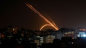 Rockets fired from Gaza towards Israel