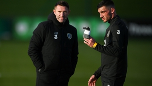 Republic of Ireland assistant coach Robbie Keane has been mentoring the promising Troy Parrott