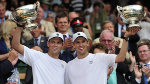 The Bryan twins are the most successful doubles team of all time