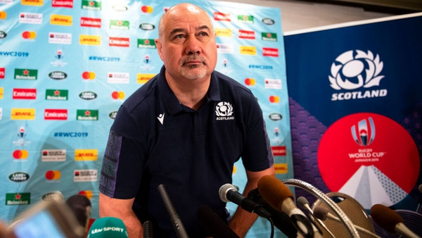 """With Scotland needing to win the game to have a chance of progression, Dodson said at a press conference that he did not want his side to be """"collateral damage"""" of the fall-out of the Typhoon"""