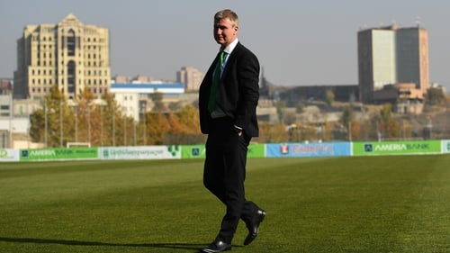 Will Stephen Kenny be in charge of the senior international side for the UEFA Nations League in September?