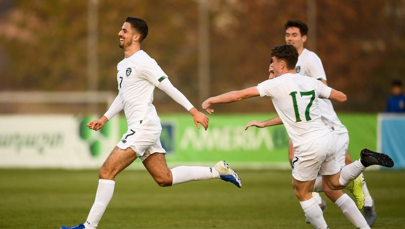 Elbouzedi gives depleted 10-man Ireland victory