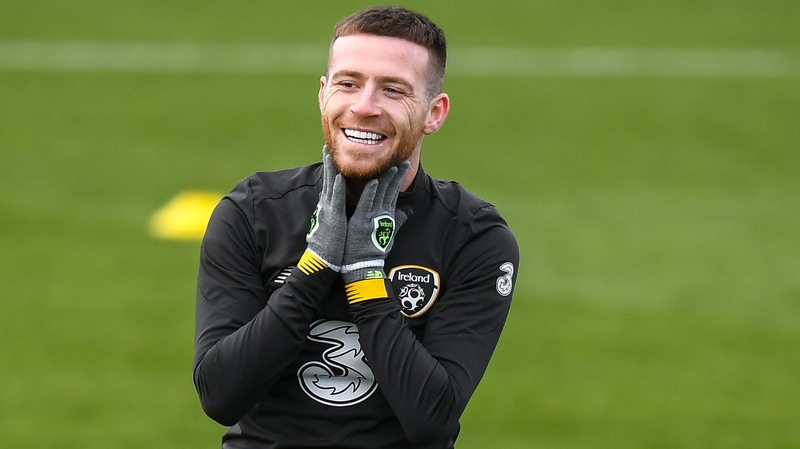 Jack Byrne determined to take dream year in his stride