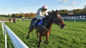 Douvan has been off the track since winning the Clonmel Oil Chase in fine style in November after a lengthy absence