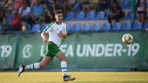 Oisin McEntee was on the mark in Salzburg, but it wasn't enough to prevent Ireland from going down 2-1 to Switzerland