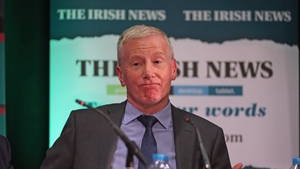 The Facebook post came Gregory Campbell was barred from addressing the Northern Ireland Assembly for a day in 2014, for failing to apologise for an Irish language parody
