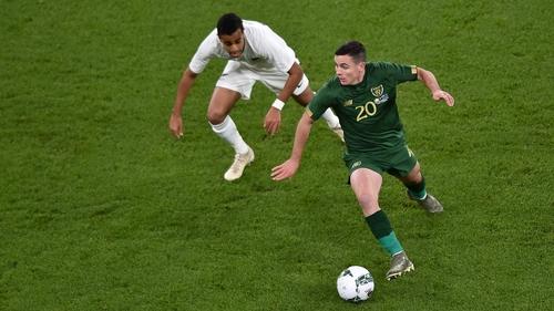 Josh Cullen had a commanding presence in the Ireland midfield