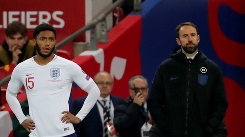 Joe Gomez was booed by some England fans after his introduction in the heavy win over Montenegro