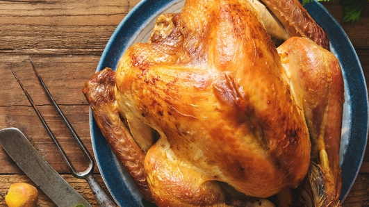 43% of people will wash their turkey before cooking