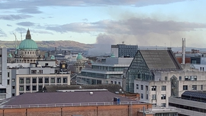 The fire is under control and firefighting operations are expected to continue throughout the day