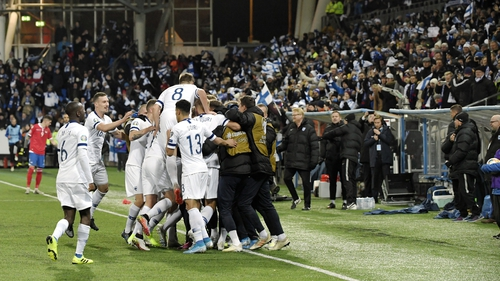 Finland are heading for the Euros