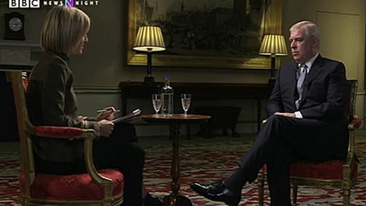 "Prince Andrew interview wins ""appalling"" headlines"