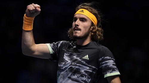 "Stefanos Tsitsipas: ""These are the moments that I always wait for."""