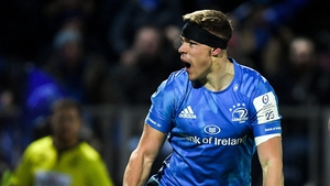 Ringrose bagged a hat-trick of tries for Leinster