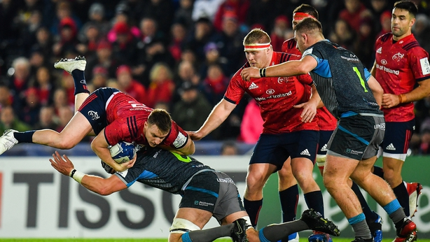 Munster overpower the Ospreys to secure bonus-point victory away from home