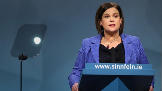 Sinn Féin Leader calls for vote on Irish unity within five years