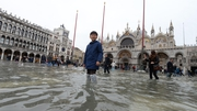 Venice is due to have a high water of 160cm just after midday today
