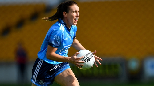 Siobhán McGrath was honured on the double