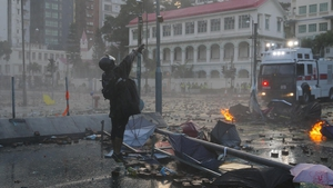 The clashes in Hong Kong have been ongoing since June