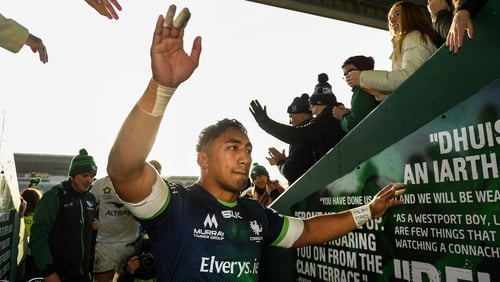 Bundee Aki's current deal with Connacht runs out in the summer