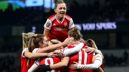 Katie McCabe helped Arsenal to a derby win