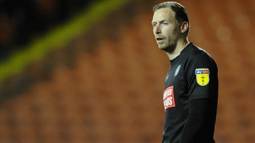Wycombe Wanderers goalkeeper Ryan Allsop