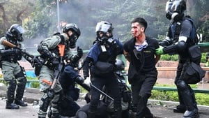 The passing of the national security law comes after a year of angry pro-democracy protests