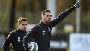 Shane Duffy captains the Republic of Ireland against Denmark tonight in place of the suspended Seamus Coleman