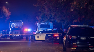 Police said the victims were aged men between 25 and 35