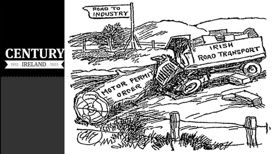 Century Ireland Issue 166 - Motor Permit Cartoon, Sunday Independent 30 November 1919