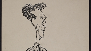 Desmond Fitzgerald, the First Dáil's Director of Propaganda, drawn by Ernest Forbes. Image courtesy of the National Library of Ireland