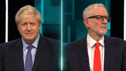 Johnson vs Corbyn debate sparks laughter in live audience