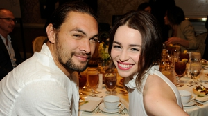 Jason Momoa and Emilia Clarke were reunited recently after starring in Game of Thrones together