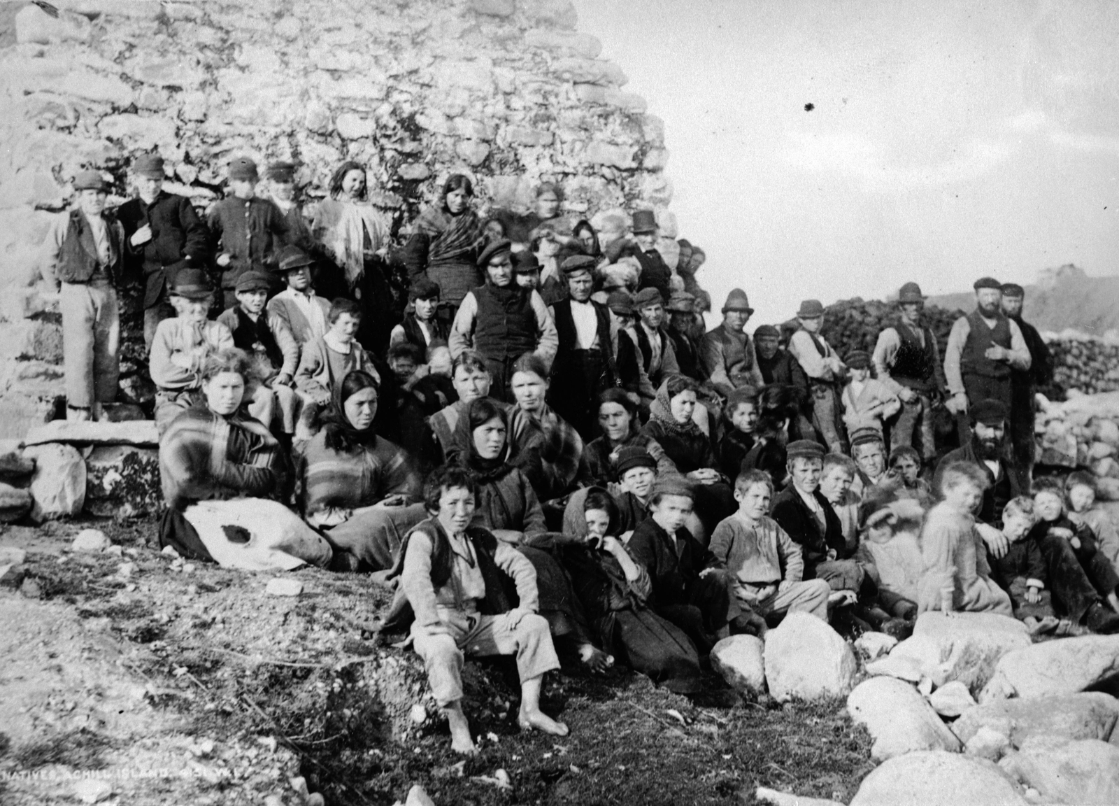 Image - Achill, 1890 (Pic: Getty Images)