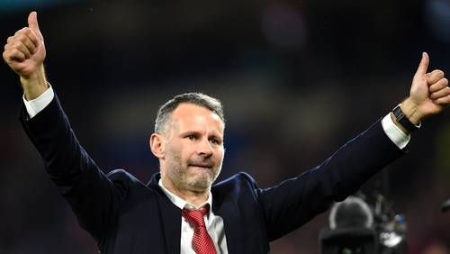 Giggs salutes supporters on Tuesday