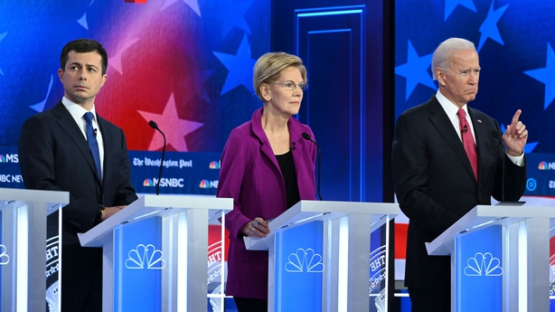 Bernie Sanders and Joe Biden Tie as Elizabeth Warren Drops to Third