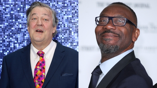 Stephen Fry and Lenny Henry - Their Doctor Who adventure will air early next year