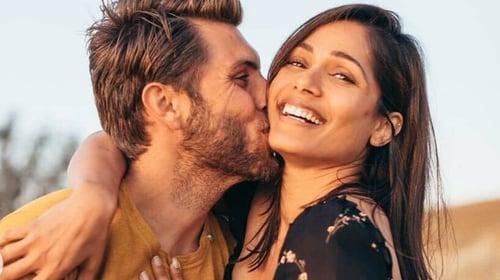 Congratulations! Freida Pinto gets engaged to photographer beau Cory Tran