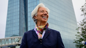 ECB President Christine Lagarde made her first major policy speech in Frankfurt today