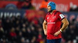 Tadhg Beirne came on as a replacement against Ospreys