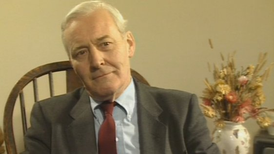 British Labour Party MP Tony Benn (1989)