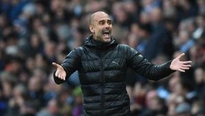 Guardiola is into his fourth season at City