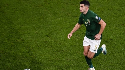 John Egan is out of action for eight weeks