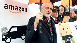 Labour leader Jeremy Corbyn spoke at an election campaign stop in Sheffield