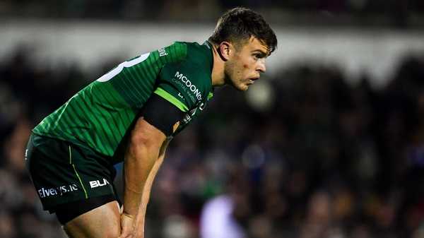 Tom Farrell has scored three tries in six outings for Connacht this seaosn