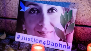 Daphne Caruana Galizia was killed by a car bomb on 16 October 2017