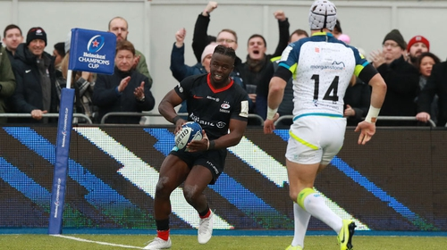 The Ospreys were swept aside 44-3 in front of a subdued crowd of 7,531 at Allianz Park